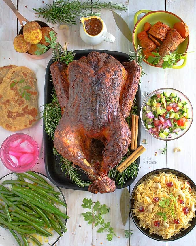 2019 indian thanksgiving menu