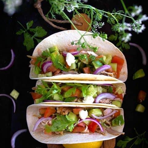 Healthy Turkey Tacos