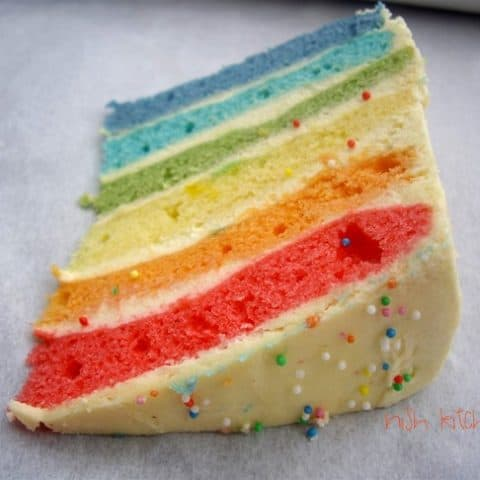 Rainbow Cake – Who doesn't Love Colors?