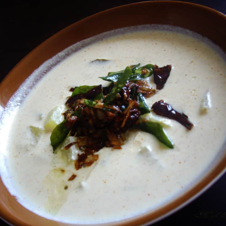 Yogurt and Coconut Curry (Pulissery)