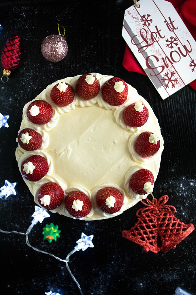No Bake Christmas Cheesecake recipe video