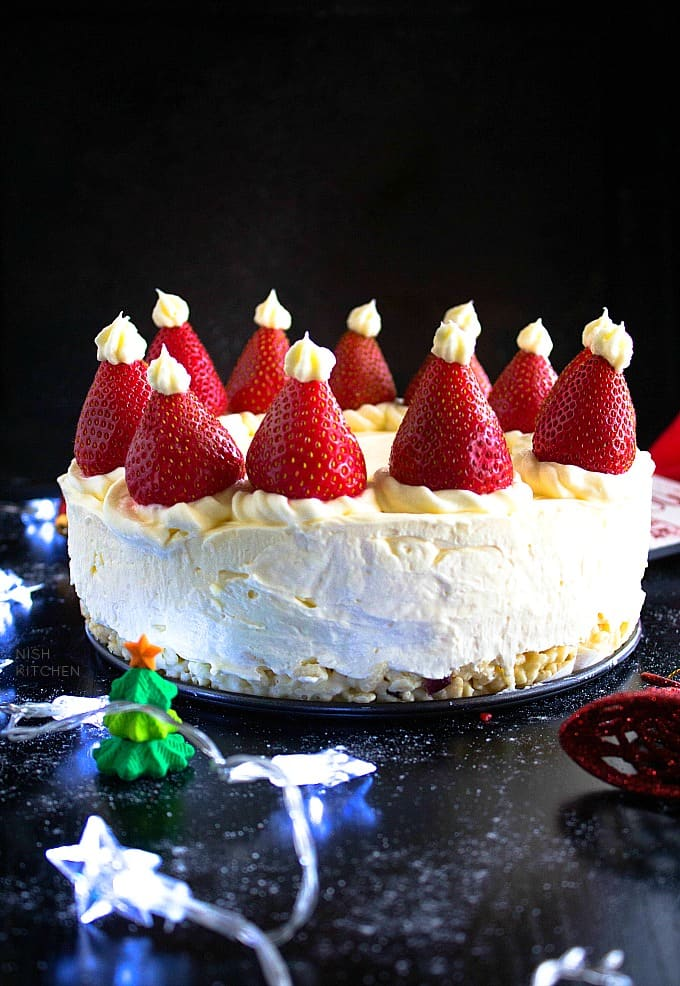 no bake christmas cheesecake recipe
