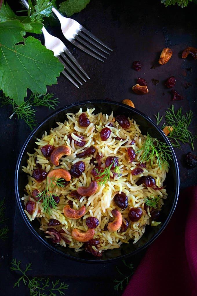 cranberry rice recipe