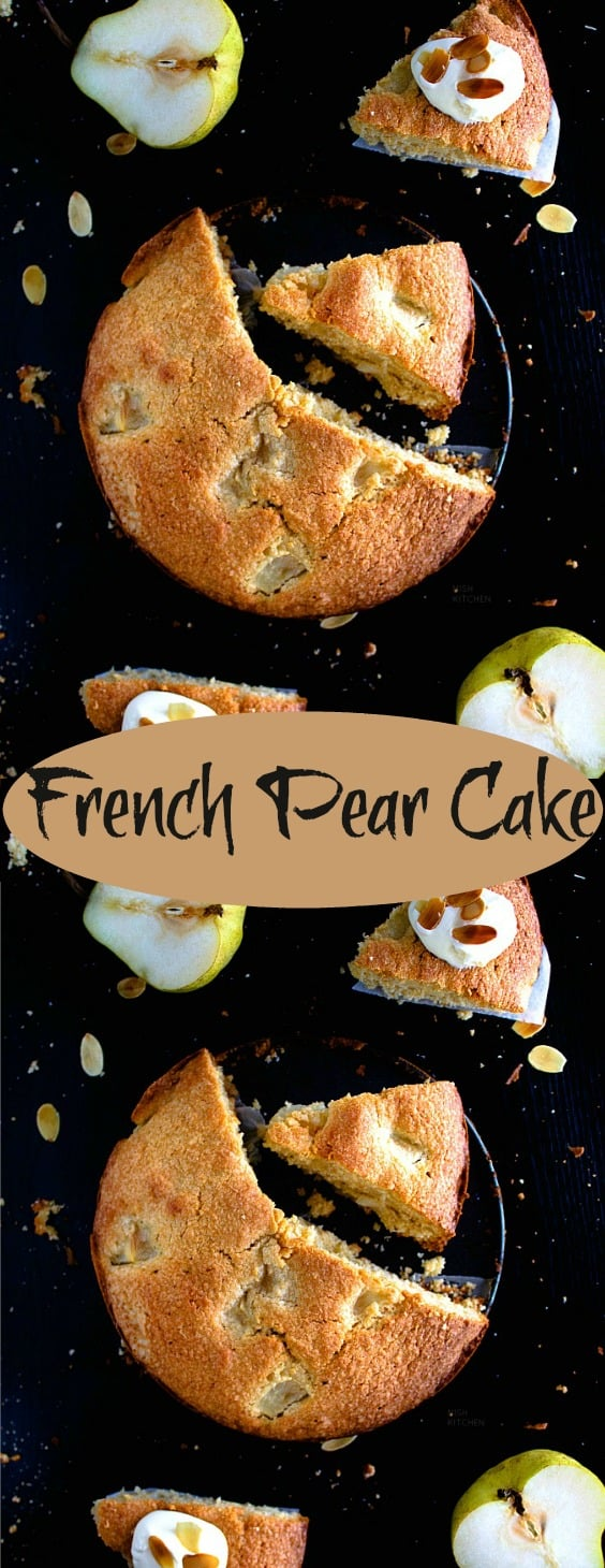 French Pear Cake