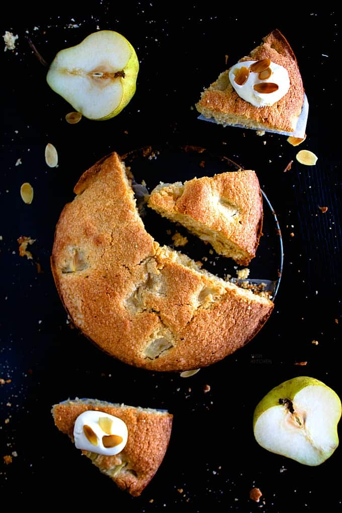 French pear cake recipe video