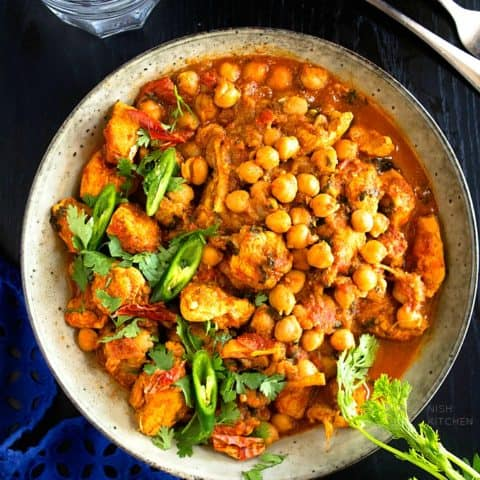 Chicken Chickpea Curry | Video