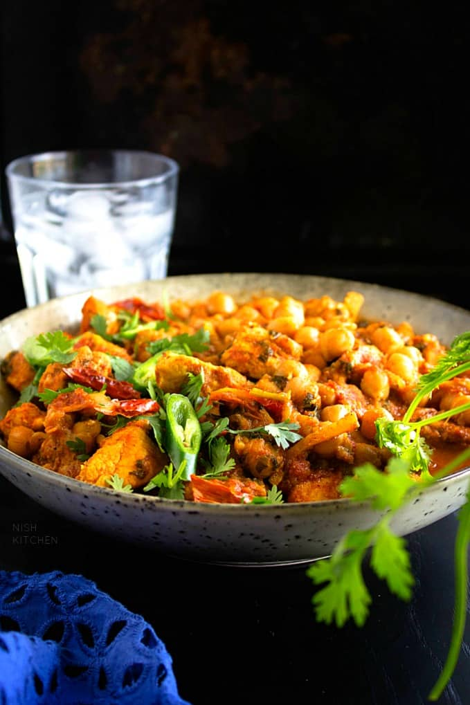 Chicken chickpea Curry Recipe