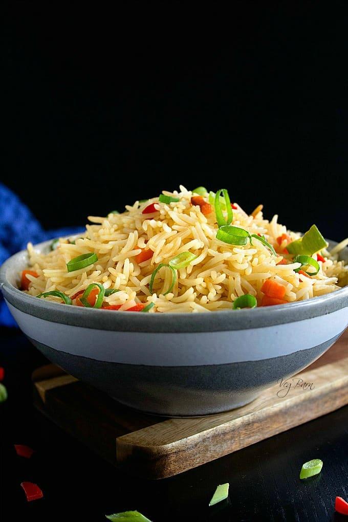 veg fried rice chinese