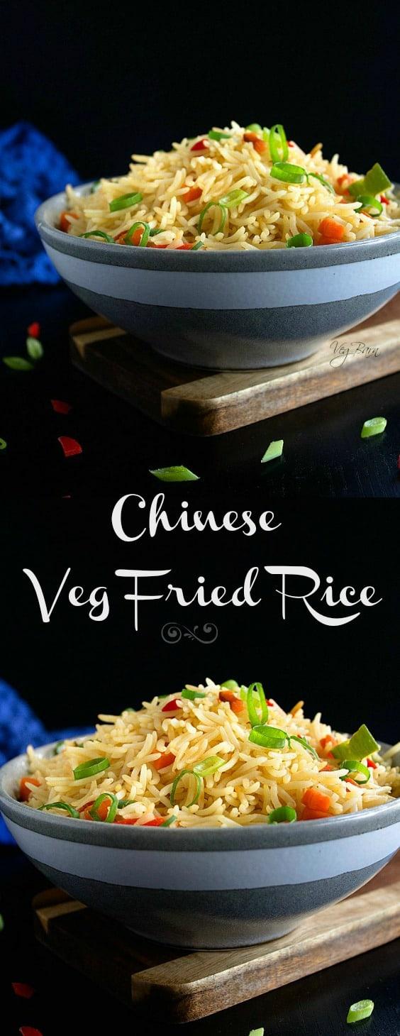 chinese fried rice vegetarian