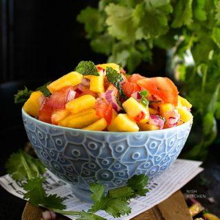 Fresh peach salsa recipe video
