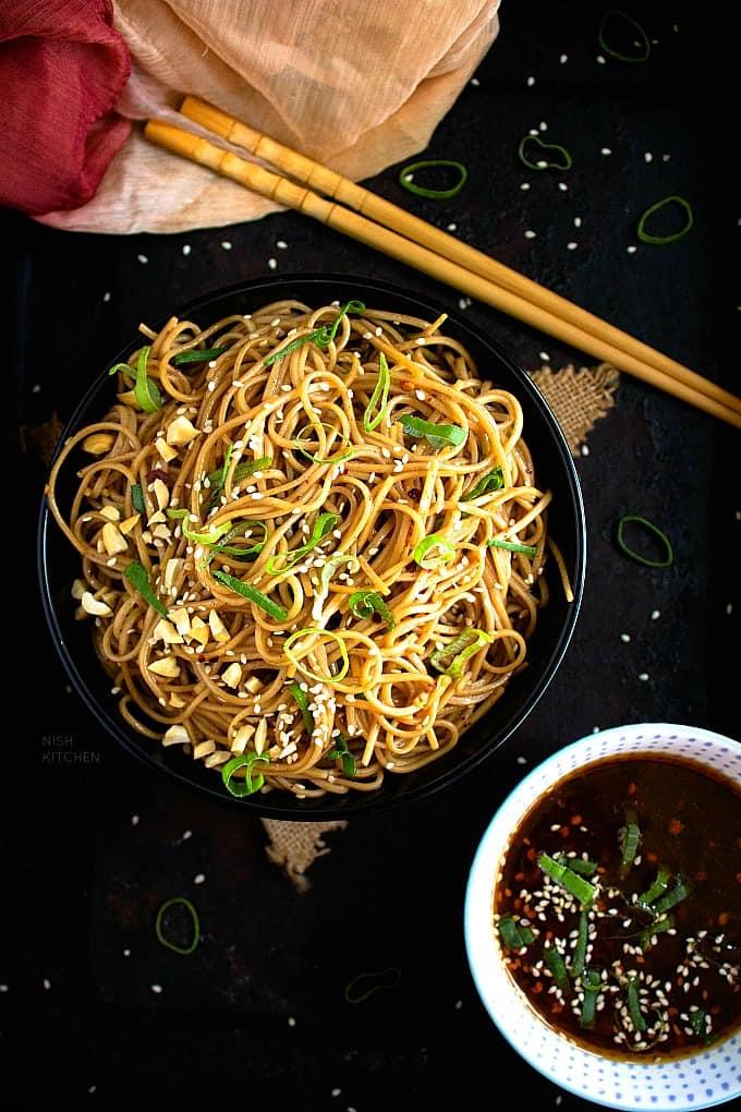 Soba noodle salad recipe video