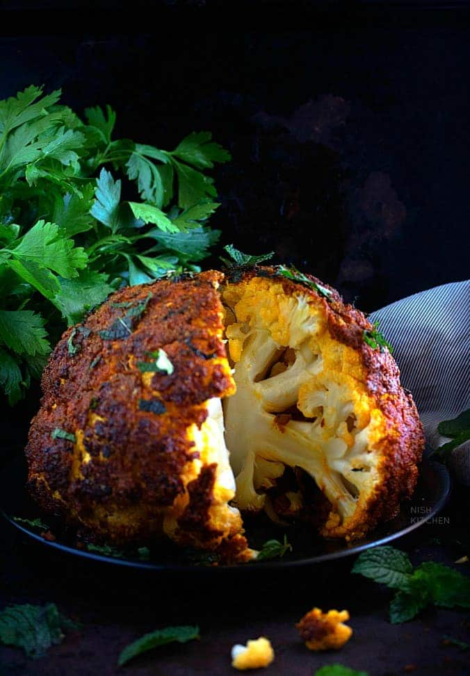 Tandoori cauliflower recipe