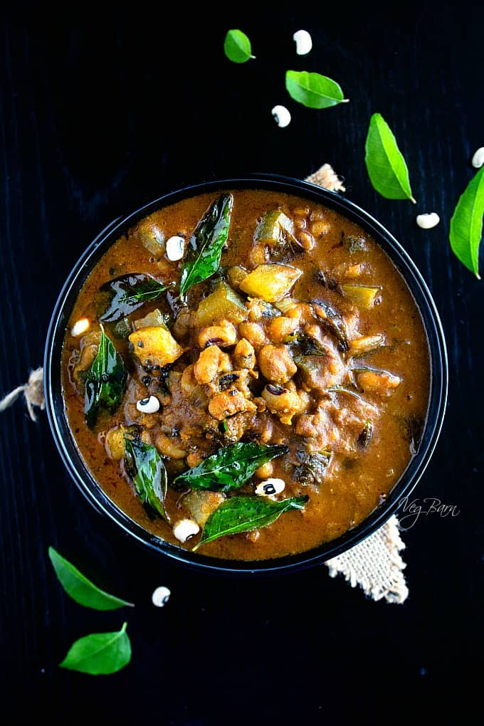 Black Eyed Peas Curry | Lobia Curry