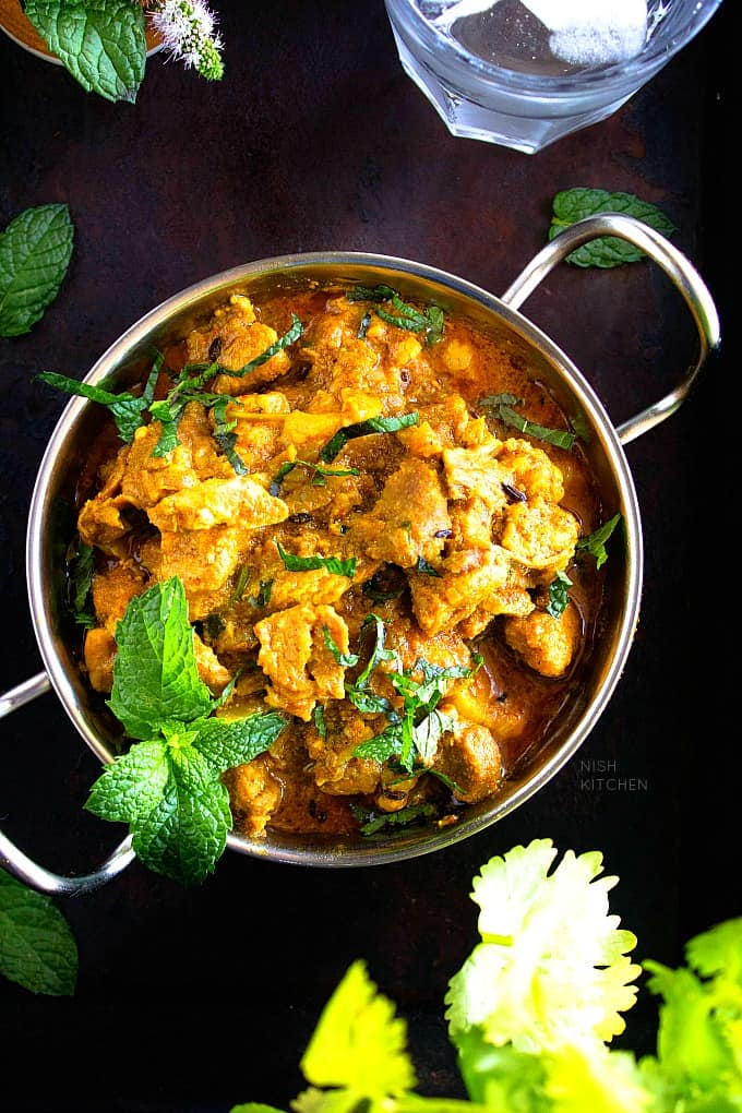 Pork curry Indian style