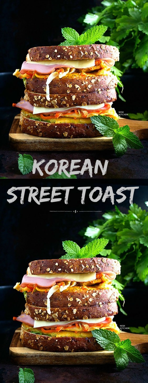 Korean street Toast