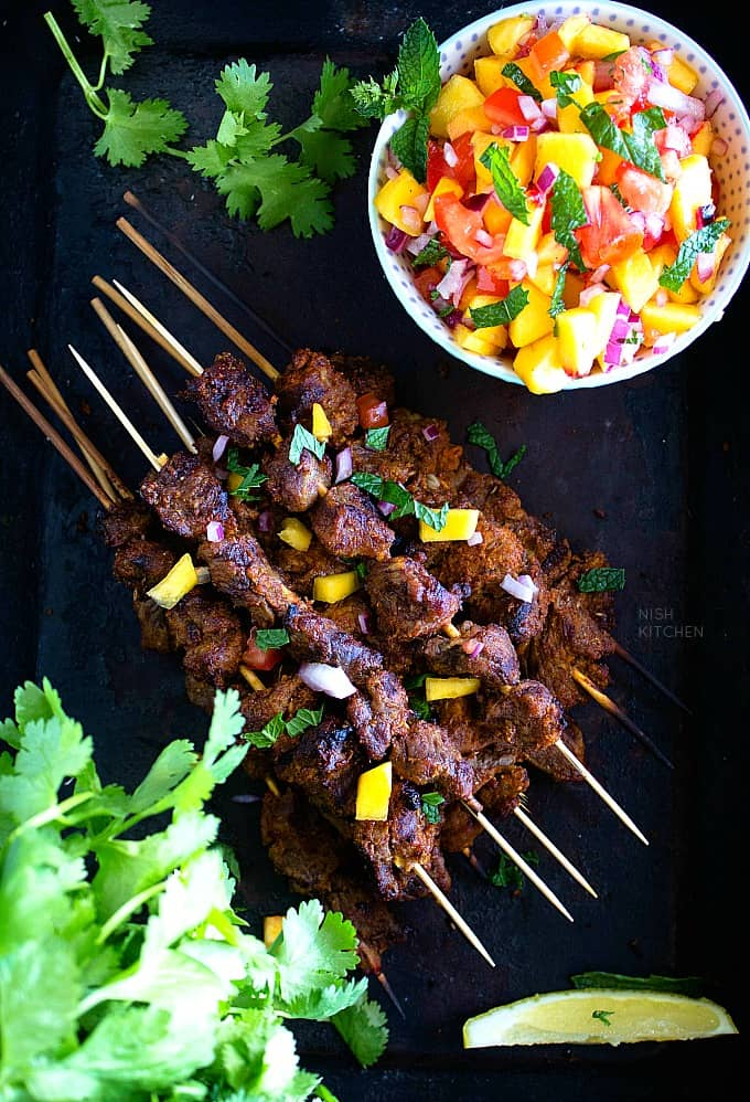 Lamb tikka recipe video