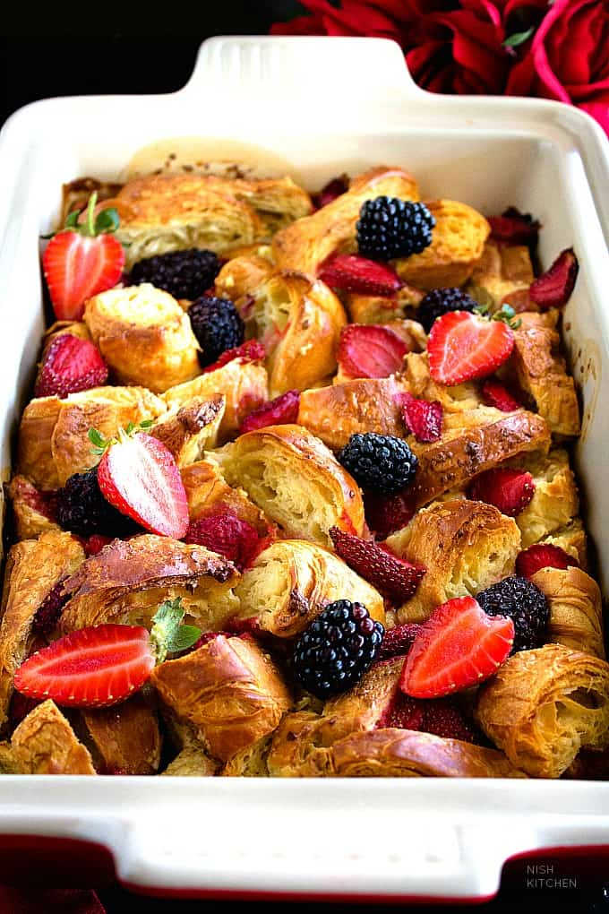 croissant berry bake