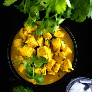 coconut curry chicken recipe video