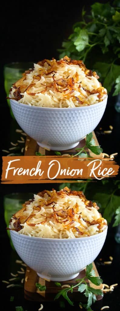 French onion soup rice recipe