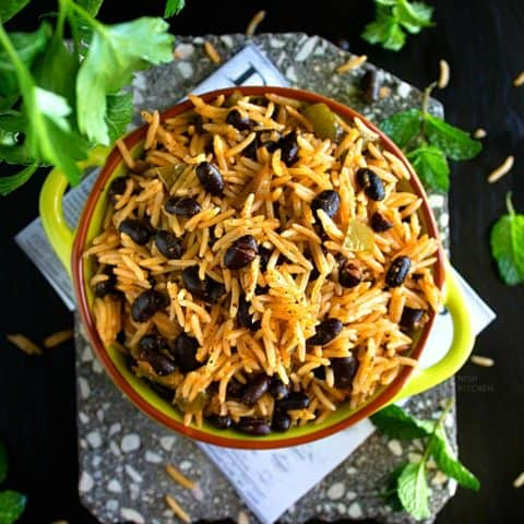 Cuban black beans and rice recipe video