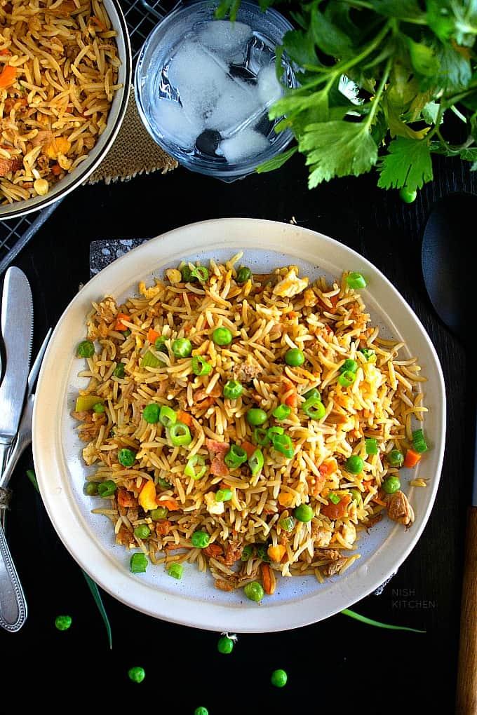 Tuna fried rice recipe video