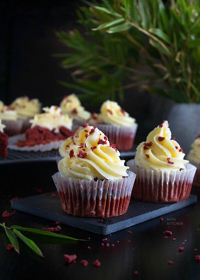 Beet red velvet cupcake recipe