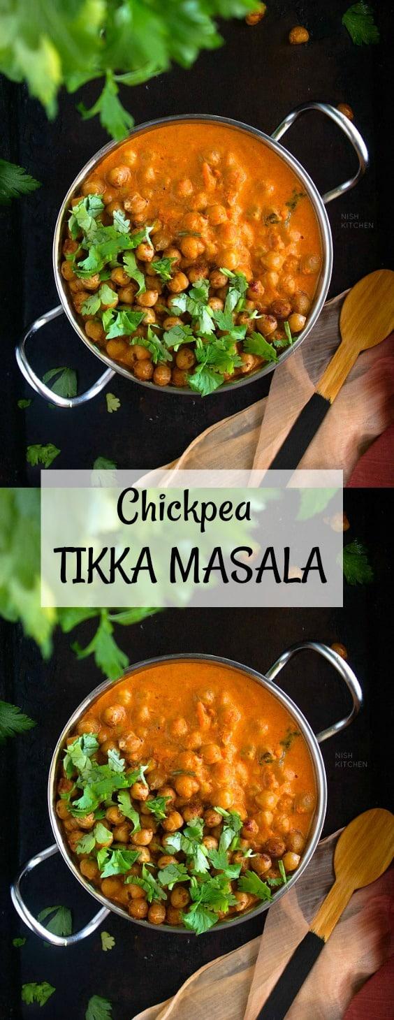 Chickpea Tikka Masala