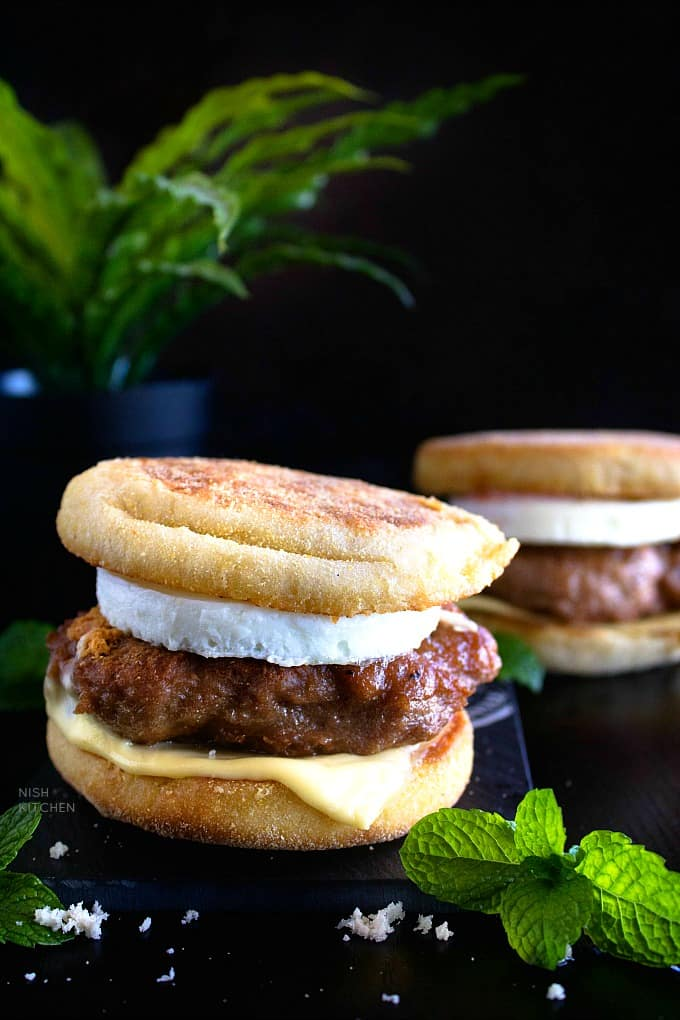 Sausage and Egg McMuffin recipe