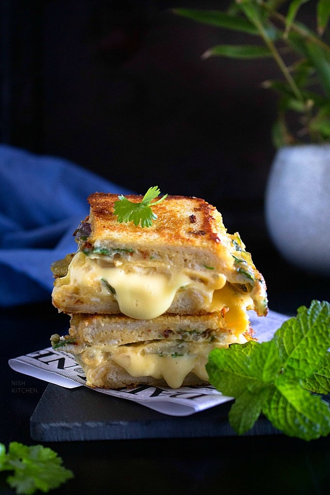 One pan egg sandwich recipe