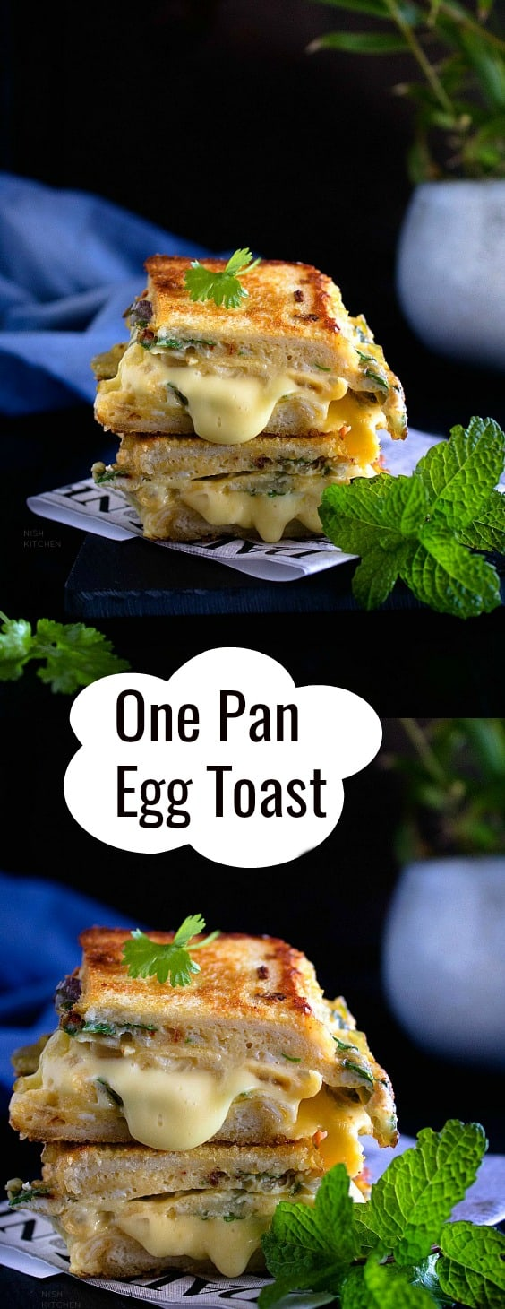 One Pan Egg Toast