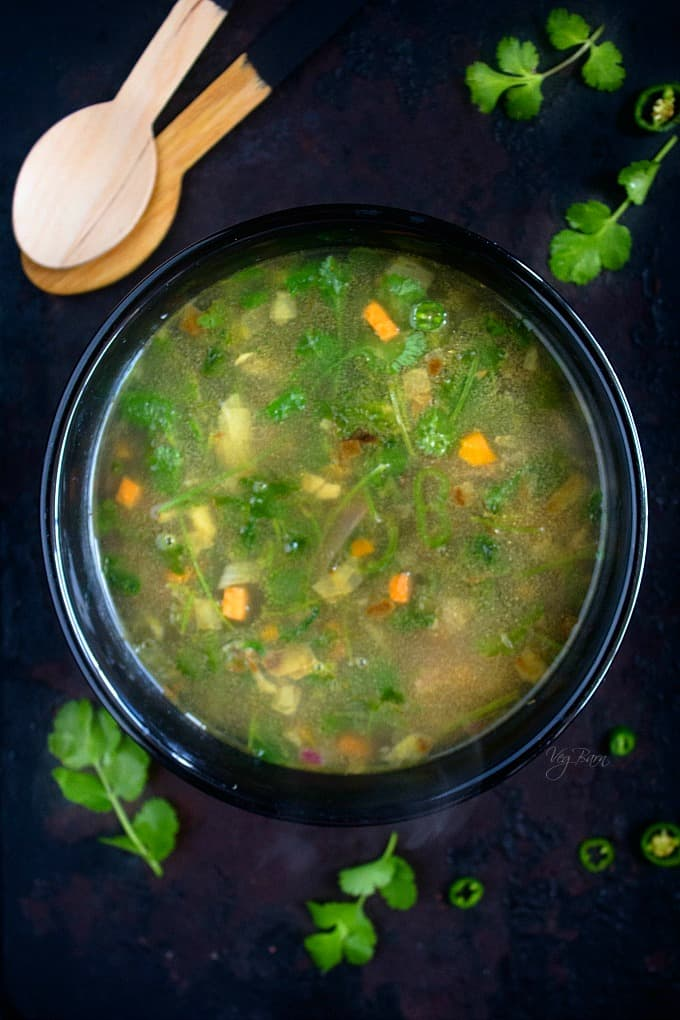 coriander lemon soup recipe