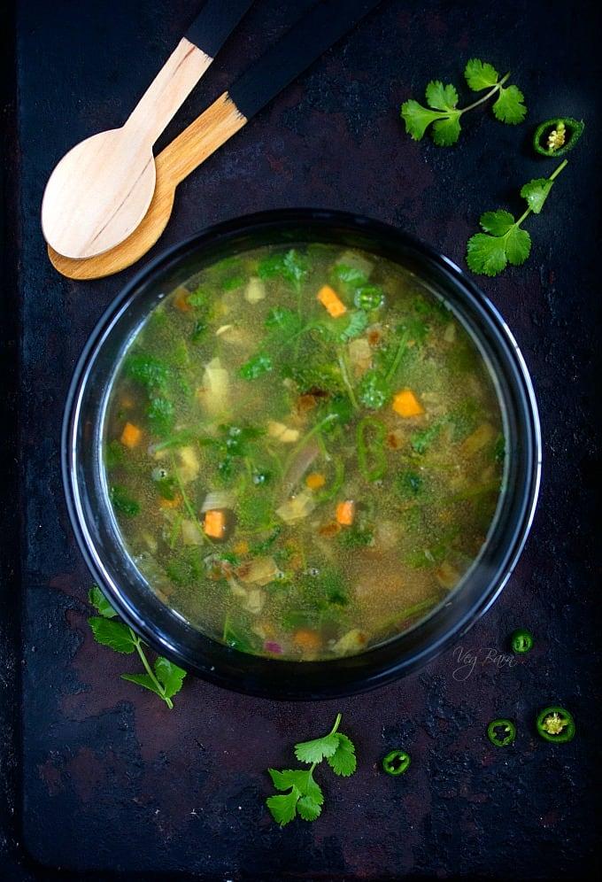 Coriander Lemon Soup