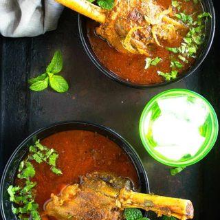 Indian lamb shank curry recipe video