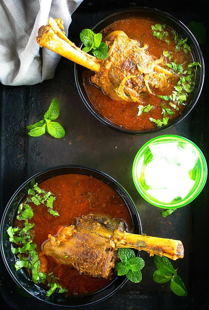 Indian lamb shank curry recipe video