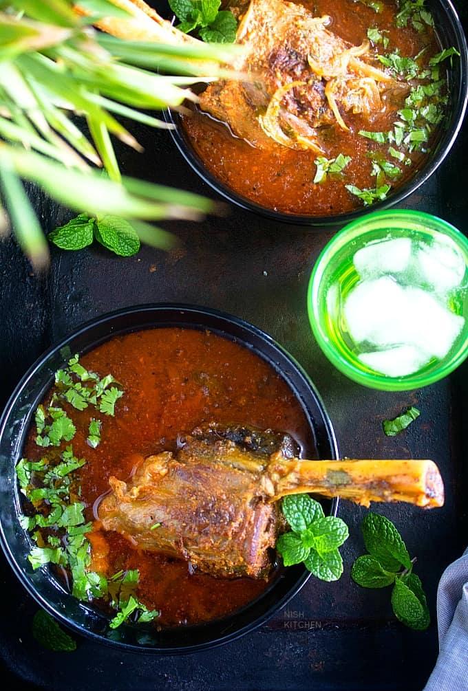 Indian lamb shank curry recipe