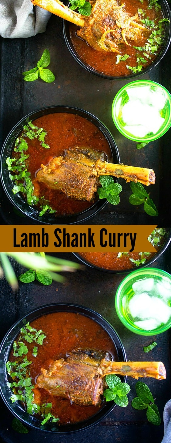 Indian Lamb Shank Curry