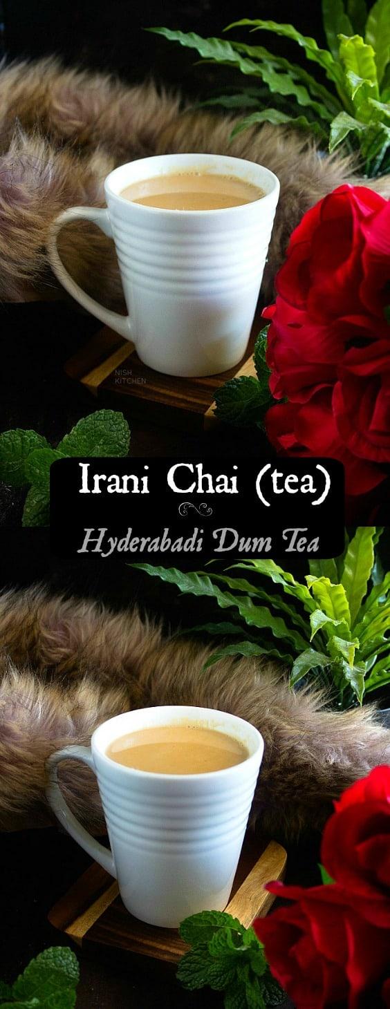 Irani Chai or Hyderabadi Dum Tea