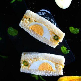 Japanese egg salad sandwich recipe video