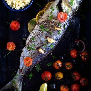 One pan roasted Australian Salmon recipe video