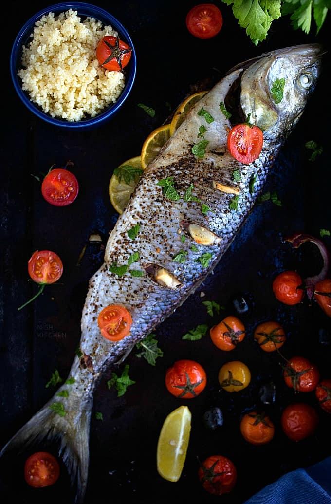 Salmon trout recipe