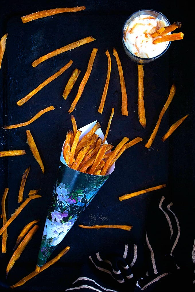 sweet potato fries in oven