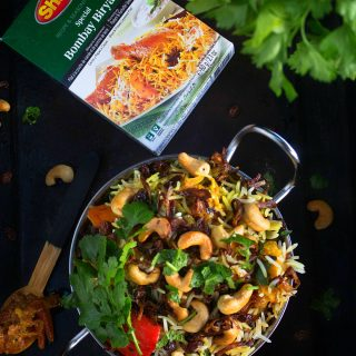 Shan Bombay Biryani with Vegetables Recipe