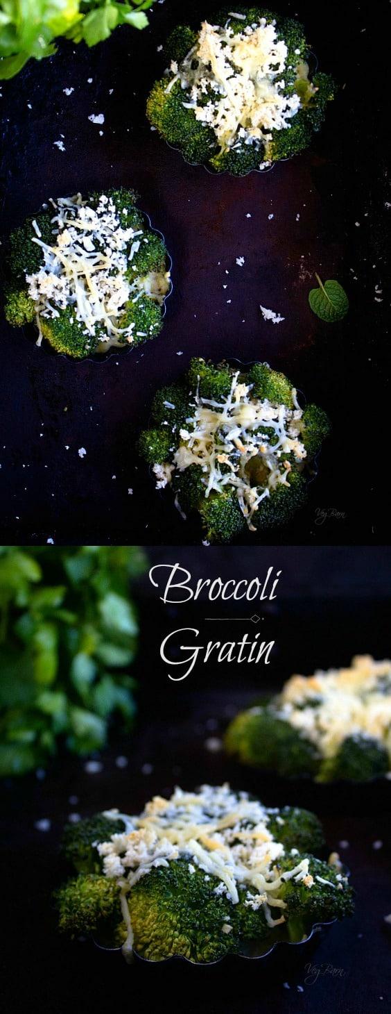 Broccoli Gratin recipe