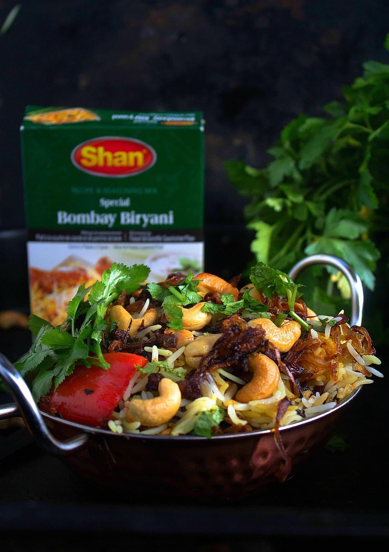 Shan Bombay Biryani recipe