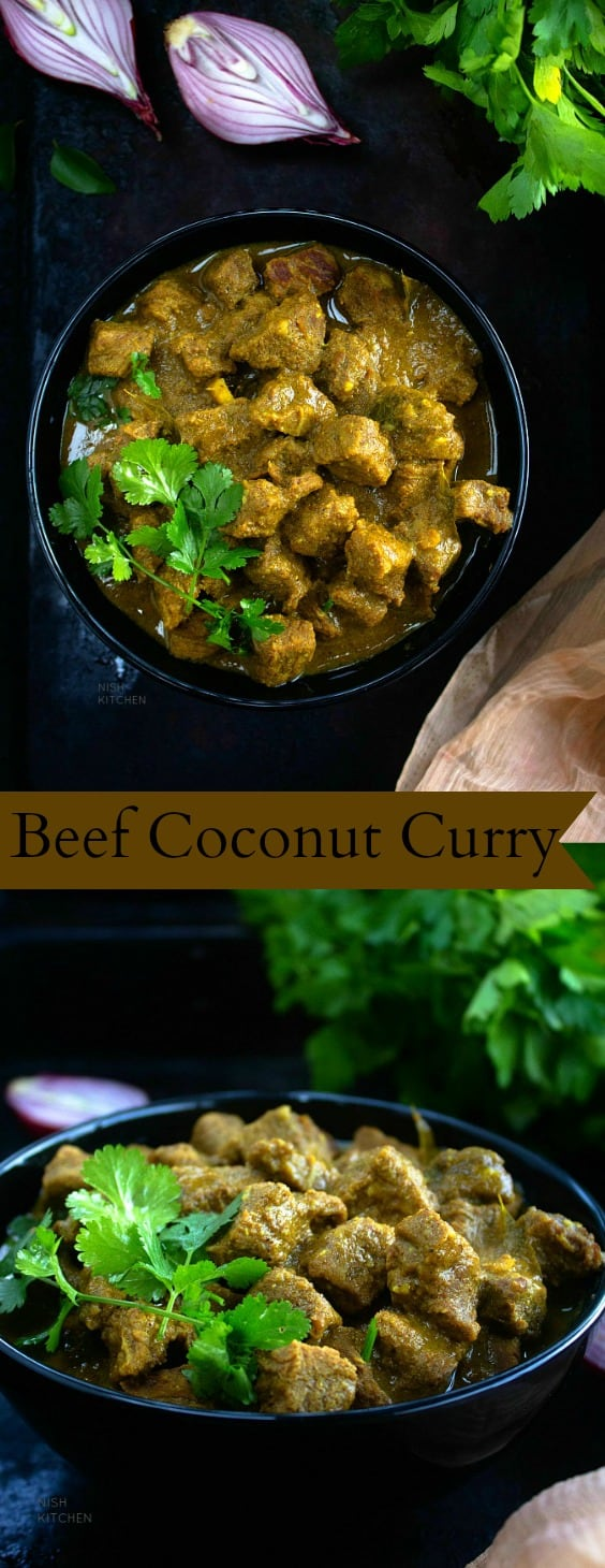Easy beef coconut curry recipe