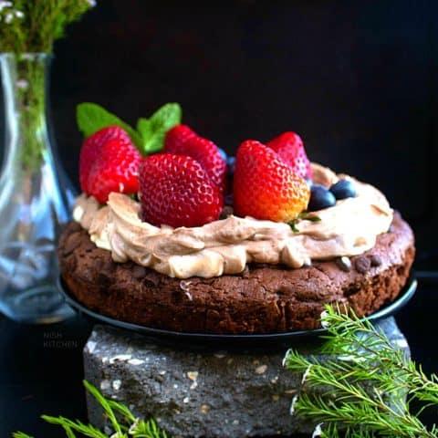 Chocolate Cookie Cake Recipe Video