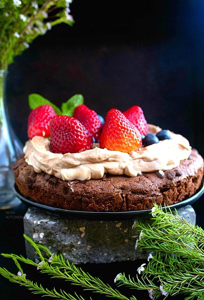Chocolate Cookie Dough Cake Recipe