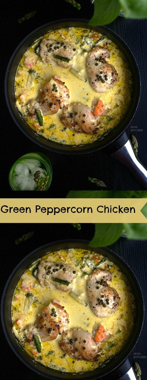 Green Peppercorn Chicken