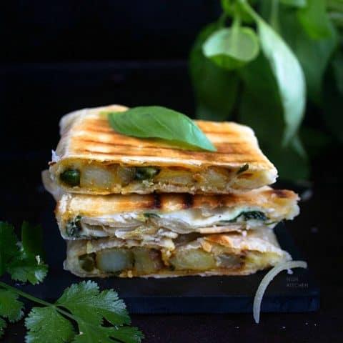 roti sandwich recipe idea