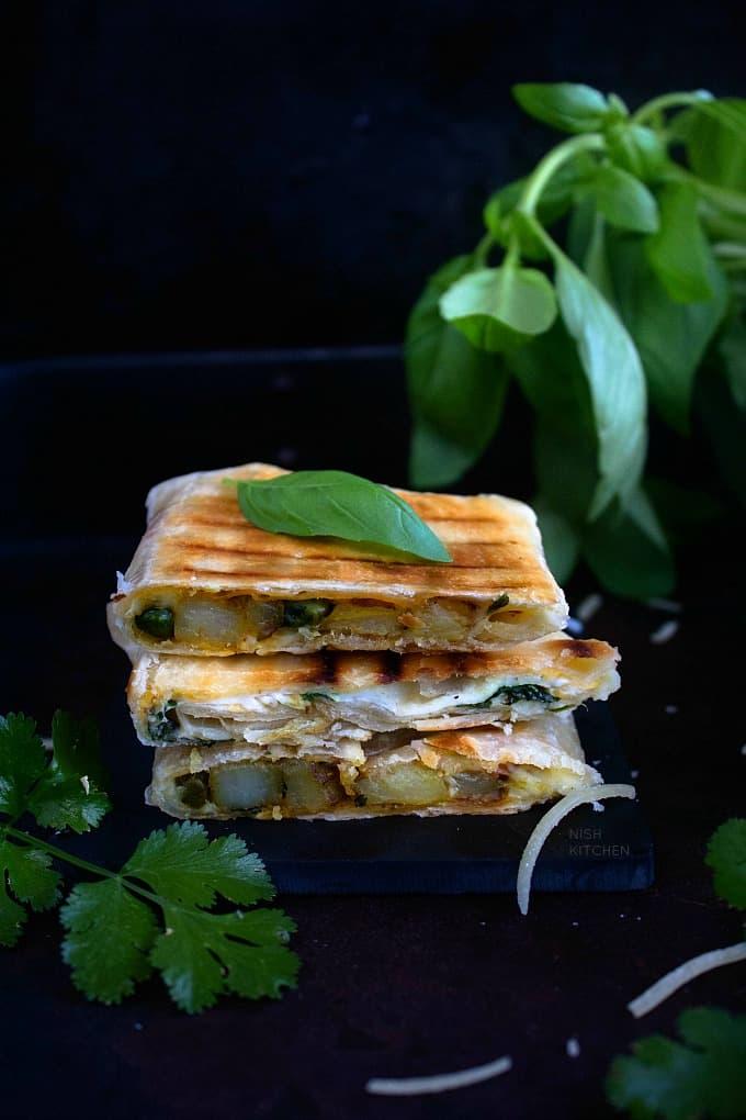 Roti Sandwich Recipe